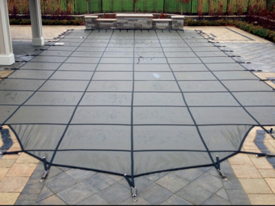 pool cover grey