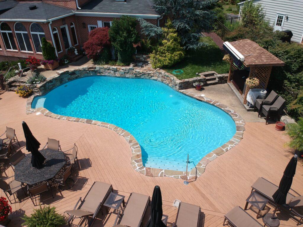 overhead pool